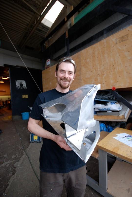 Titanoboa Progress - 1st Aluminum Vertebra